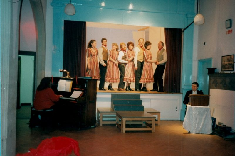 Aldermaston Players - dress rehearsal 1996