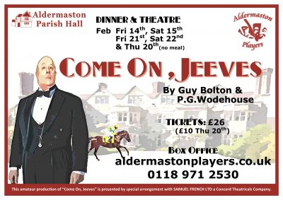 Come On Jeeves, Poster