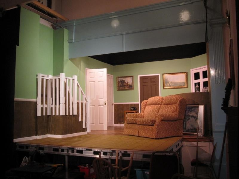 Aldermaston Players - Dry Rot - set
