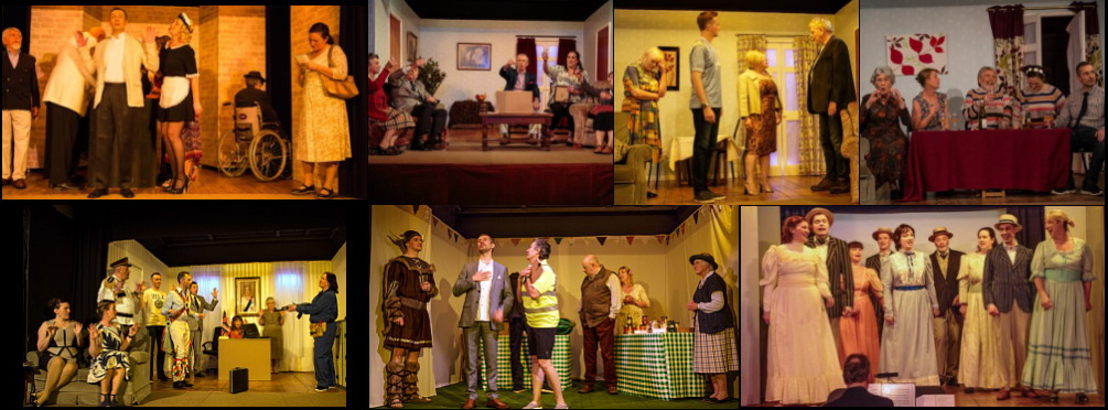 Aldermaston Players recent shows